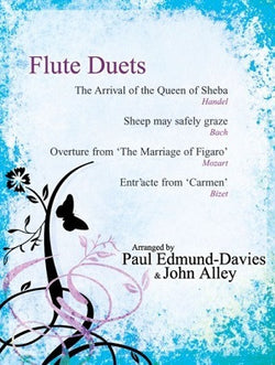 Flute Duets - Arrival of the Queen of Sheba Paul Edmund-Davies and John Alley