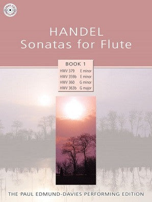 Handel - Sonatas for Flute - Book 1 Paul Edmund-Davies