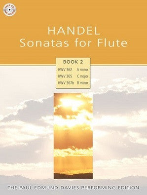 Handel Sonatas for Flute - Book 2 Paul Edmund-Davies