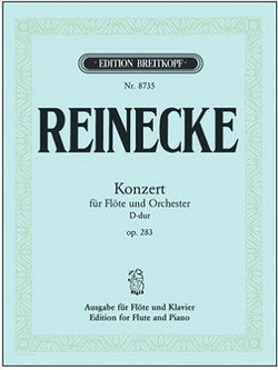Reinecke - Concerto in D major Op. 283 (Breitkopf & Hartel)