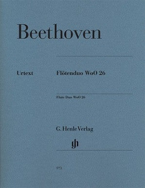 Beethoven - Flute Duo WoO 26 for Two Flutes (Henle)