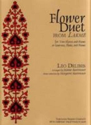 Delibes - Flower Duet 2 Flutes(or Soprano And Flute)/Piano