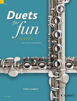 Duets for fun: Flutes Easy pieces to play together