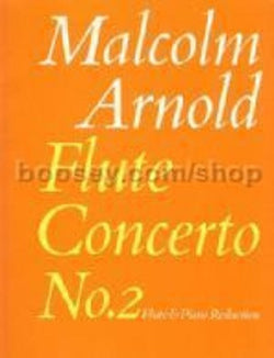Arnold, Malcolm - Flute Concerto No. 2 for Flute and Piano (Faber)
