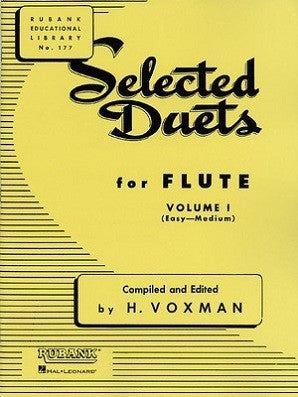 Voxman - Selected Duets for Flute Volume 1 - Easy to Medium