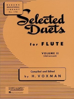 Voxman - Selected Duets for Flute Volume 2 - Advanced