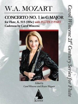 Mozart - Concerto No. 1 in G Major for Flute, K. 313 With Flute 2 Part