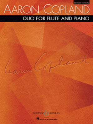 Copland - Duo for Flute and Piano Revised Edition (B&H)