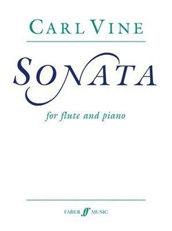 Vine, C - Sonata for Flute and Piano (faber)