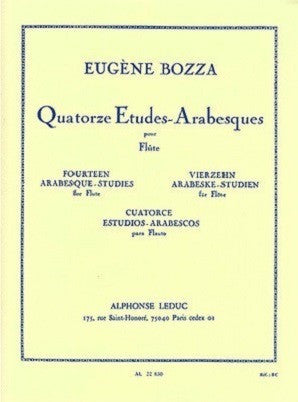 Bozza, E - 14 Etudes Arabesque (leduc)
