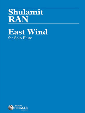 Ran - East Wind for Solo Flute (Presser)