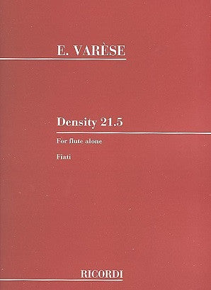 Varese - Density 21.5 (Ricordi)