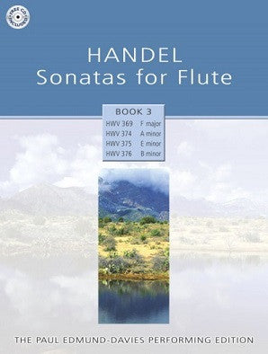 Handel Sonatas for Flute - Book 3 Paul Edmund-Davies