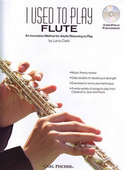 Clark - I Used to Play Flute - Carl Fischer - BK+CD