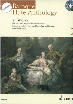 Baroque Flute Anthology 2 bk/cd - Edit: Annable Knight - Schott Edition