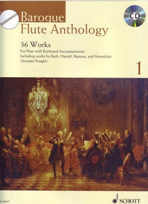 Baroque Flute Anthology 1 bk/cd - Edit: Annable Knight
