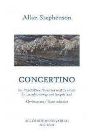 Stephenson , Allan Concertino for piccolo and piano