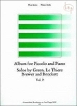 Album for piccolo and piano Vol 2 Broekmans en van Poppel)