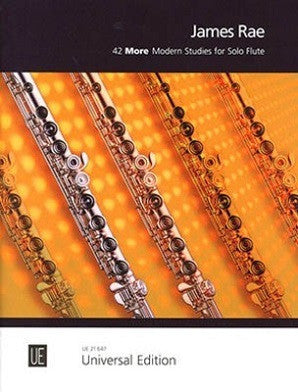 Rae, James 42 More Modern Studies for Solo Flute (Universal)