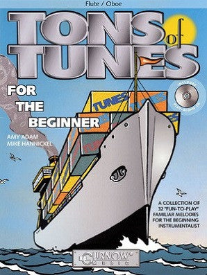Hannickel, Mike / Adam, Amy  - Tons of Tunes for the Beginner (Cunrow Music)