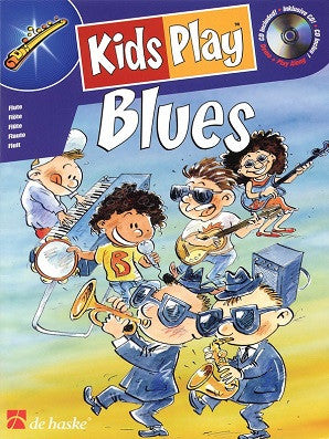 Kids Play Blues - CD with practice/performance tracks