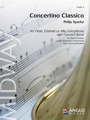 Sparke, P - Concertino Classico for Flute and Concert Band