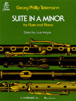Telemann - Suite in A Minor for Flute & Piano (Schrimer)