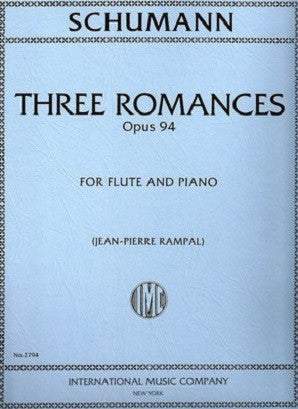Schumann , R - Three Romances Op. 94 (IMC)