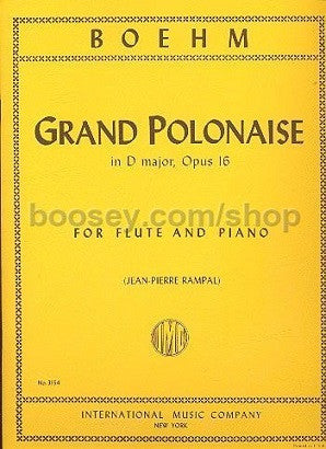 Boehm, Theobald -Grand Polonaise in D major Op. 16 (IMC)