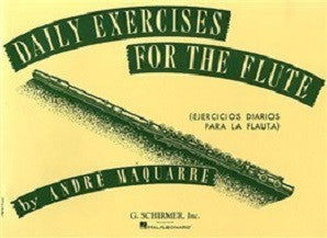 Maquarre, Andre : Daily Exercises For The Flute