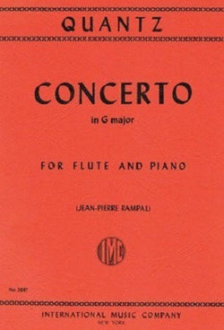 Quantz: Concerto in G major QV5/174 (IMC)