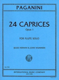 Paganini, N :24 Caprices Op. 1 (IMC)