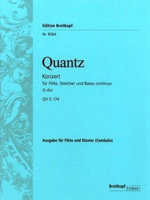 Quantz: Concerto in G major QV5/174 (Breitkopf & Hartel)