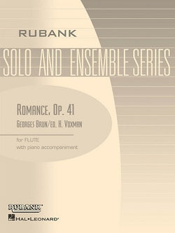 Brun, George - Romance, Op. 41 for flute and piano (Rubank)