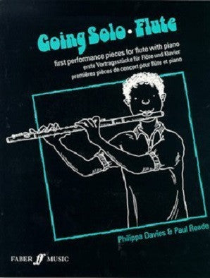 Davies/Reade: Going Solo Flute for flute and piano (Faber)