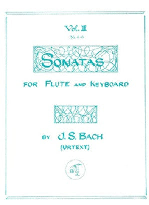 Bach J S - Sonatas Vol 2(Urtext) BWV 1033 - 1035 (Little Piper)