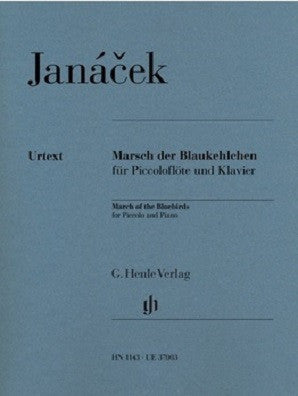 Janáček, Leos: March of the Bluebirds for Piccolo and Piano (Henle)