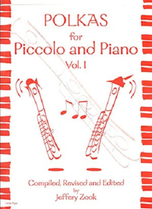 ZOOK: Polkas for Piccolo Vol 1 for flute and piano (Little Piper)