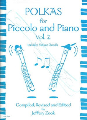 ZOOK: Polkas for Piccolo Vol 2 for flute and piano (Little Piper)