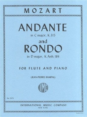 Mozart - Andante in C major K.315 and Rondo in D major K.Anh.184 (IMC)