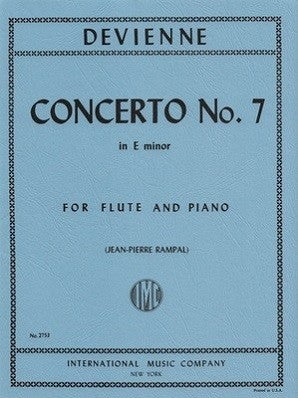 Devienne ,Francois - Concerto No. 7 in E minor (IMC)