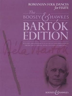 Bartok, B - Romanian Folk Dances for Flute (B&H)