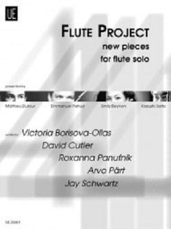 Diverse: Flute Project for flute New contemporary pieces for the stage and instrumental lessons (UE)