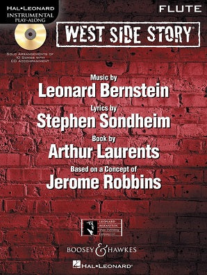Bernstein, L - West Side Story Instrumental Play-Along Book/CD Pack