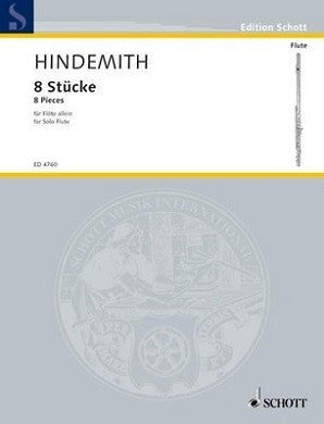 Hindemith, P - Acht Stucke, 8 Pieces (1927) (Schott)