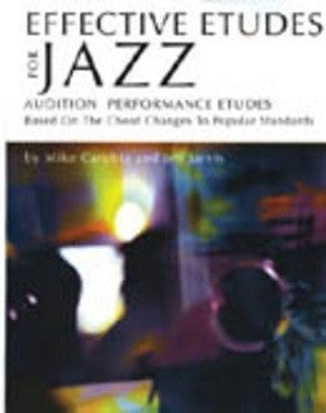 Effective Etudes For Jazz - Flute (Book w/CD)