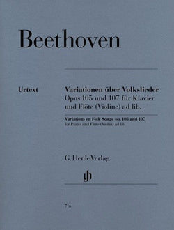 Beethoven - Variations on Folk Songs Op. 105 & 107 (Henle)