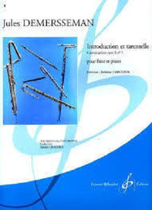 Demersseman, J - Introduction et Tarentelle Op. 2 No. 5 (Gerard Billaudot Editeur)