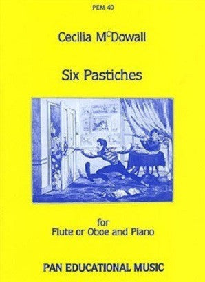 McDowall, C - Six Pastiches (Pan)