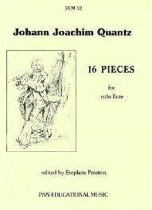 Quantz - Sixteen Pieces (Pan Educational)